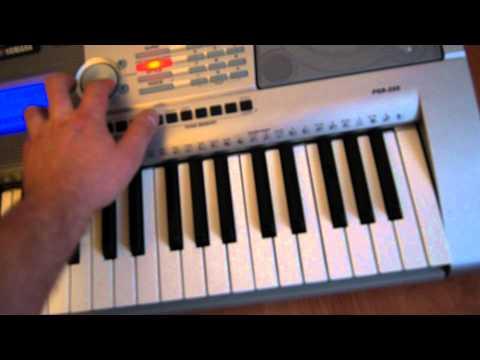 yamaha keyboard PSR 295