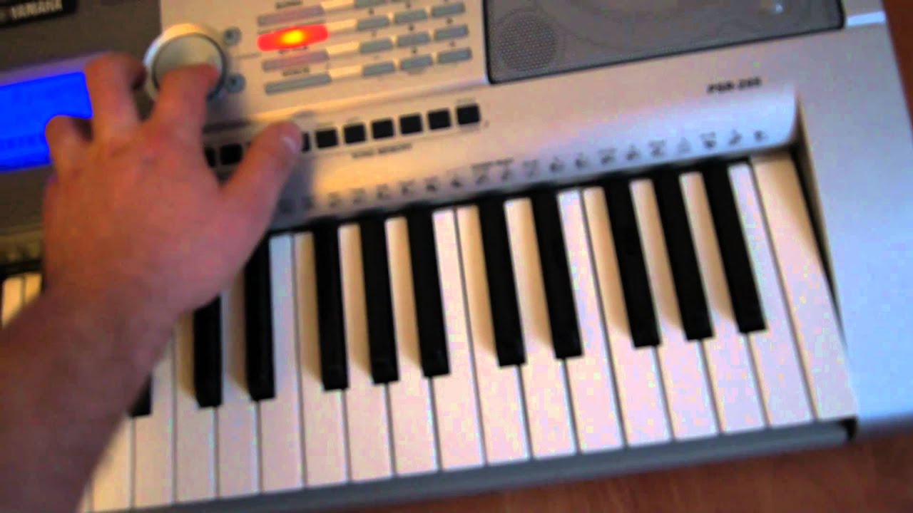 Yamaha keyboard psr 295 youtube for Yamaha clp 295