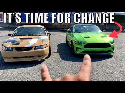 SOLD MY MUSTANG TO GET A C8 CORVETTE & 2020 GT500!