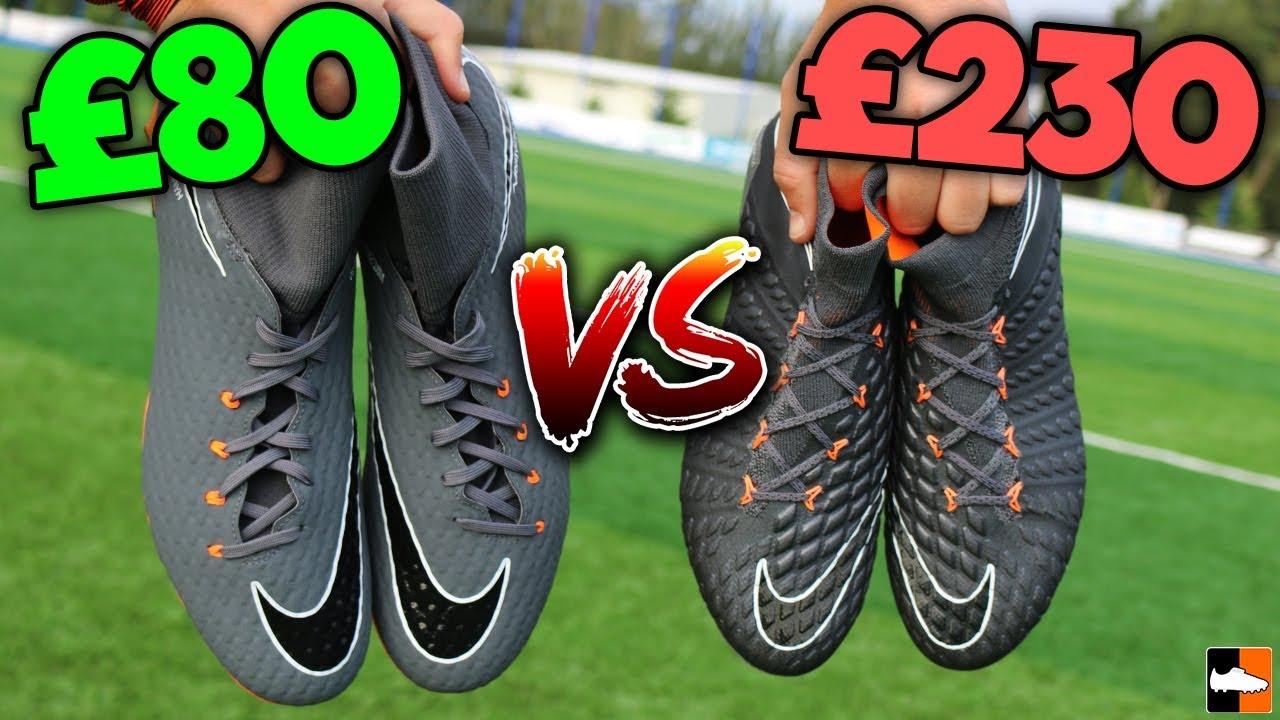 reputable site a6c8b 06cfd Cheap vs ELITE! Which Nike Hypervenom Is Better For YOU?