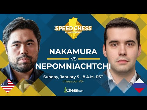 1/2 Finale Du Speed Chess - Nakamura Contre Nepomniachtchi