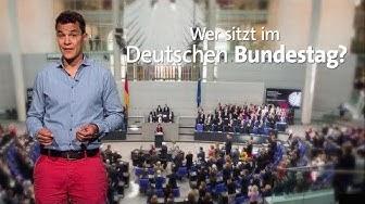 #kurzerklärt: Wer sitzt im Deutschen Bundestag?