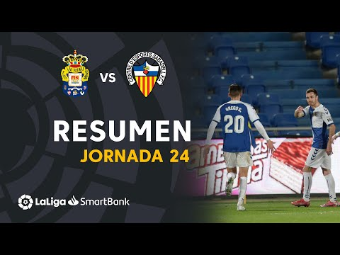 Las Palmas Sabadell CE Goals And Highlights