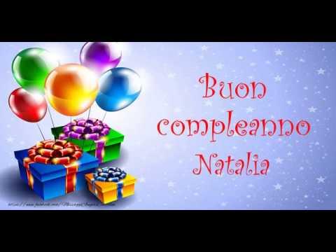 Tanti Auguri Di Buon Compleanno Natalia смотреть видео
