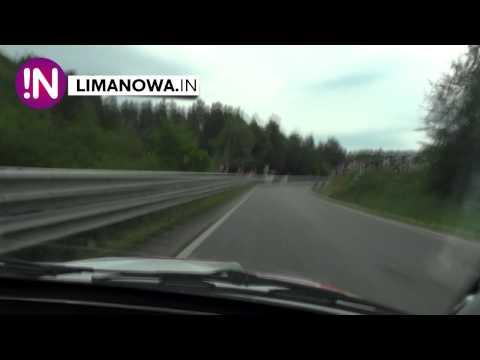 Dachowanie - Wypadek GSMP Limanowa - on board