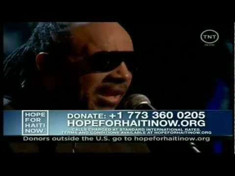 Stevie Wonder - A Time to Love  Bridge Over Troubled Water live