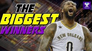 The BIGGEST Winners of Fantasy Basketball 2018!
