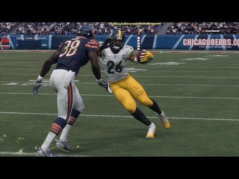 Le'Veon Bell Jukes The Steelers To Victory Against Bears | Madden 18 SSRL Week3