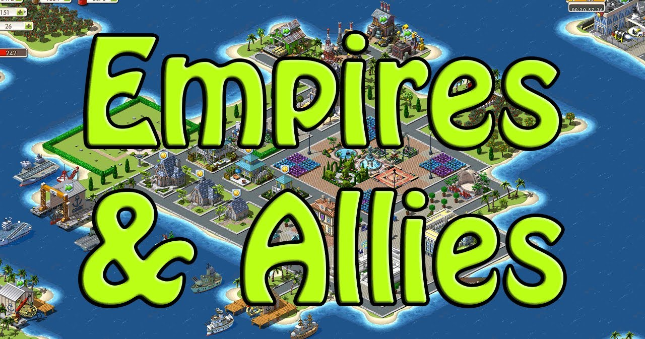 Old Facebook Games Zynga S Empires Allies Youtube