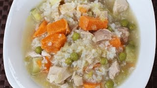 How To Make  Homemade Chicken Soup - Healthy And Delicious By Rockin Robin