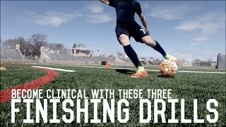 Three Essential Finishing Drills For Attackers   Individual Training For Footballers/Soccer Players