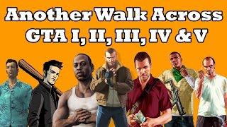 هذا هو الوقت الذي يستغرقه المشي عبر خرائط ألعاب GTA كاملة @ موقع القيادي
