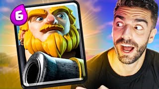 USEI O DECK MAIS APELÃO DE GIGANTE REAL DO CLASH ROYALE!