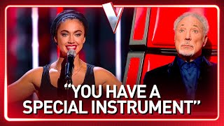 This The Voice-talent gets knocked down twice, but that does...
