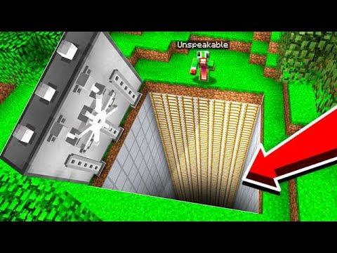 WORLD'S BIGGEST SURVIVAL REDSTONE BUNKER!