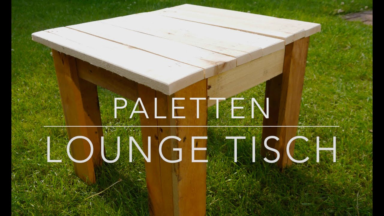diy paletten lounge tisch selbst gemacht youtube. Black Bedroom Furniture Sets. Home Design Ideas