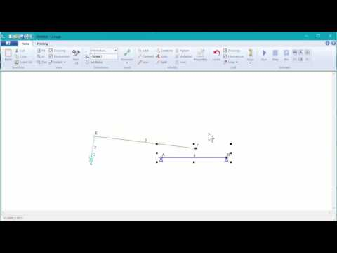 Linkage Tutorial #2: Sliding Connections