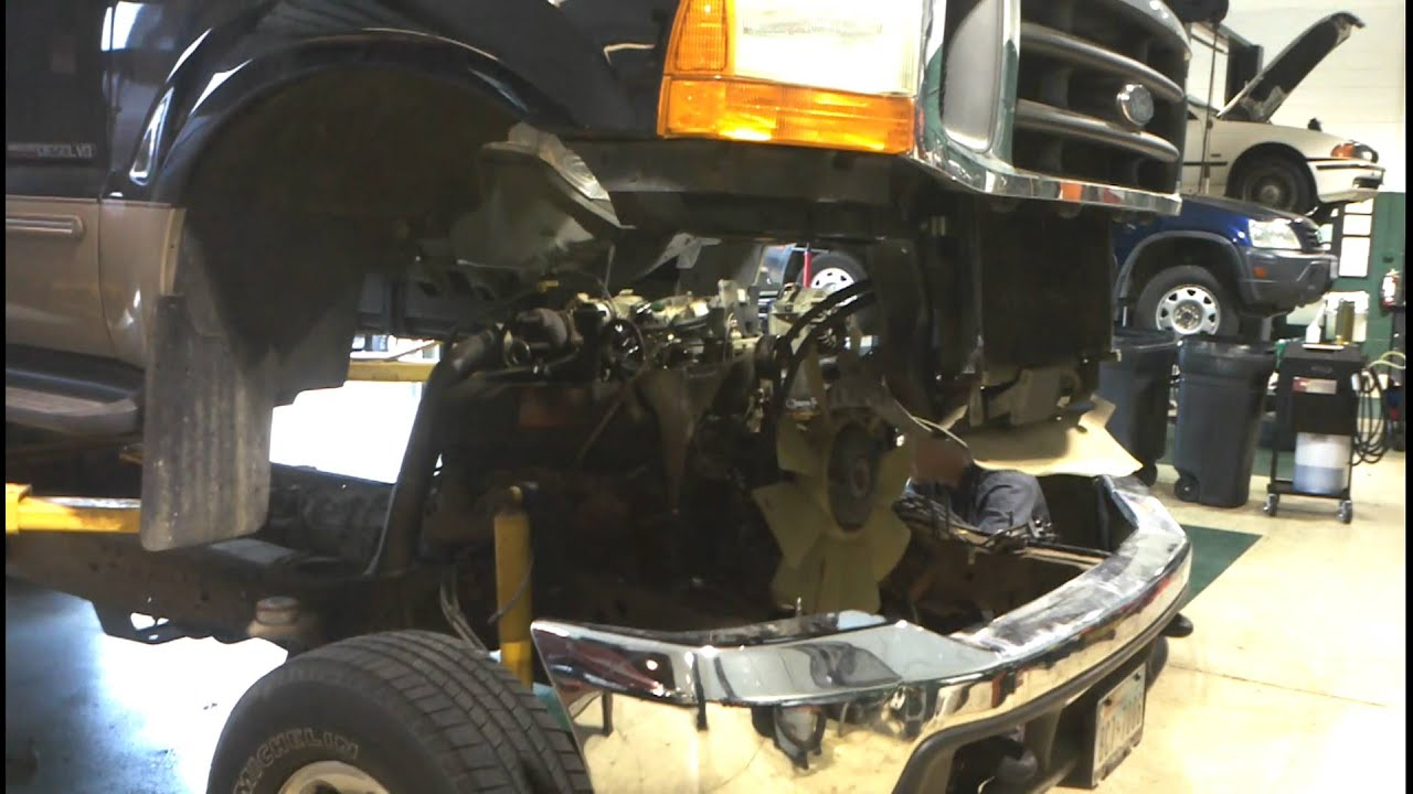 F250 motor swap done right youtube sciox Image collections