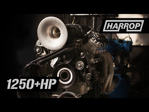 1250HP Harrop TVS2650 Supercharger Testing
