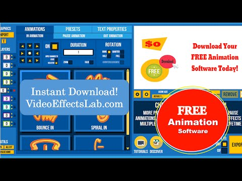 Where to get free animation software