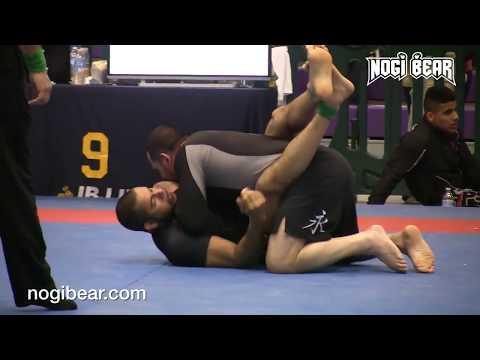 Louis De La Pena vs Marco DeLima  IBJJF NYC Spring Open 2015  No Gi Black Belt Super Heavyweight