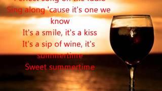 Summertime Kenny Chesney Lyrics