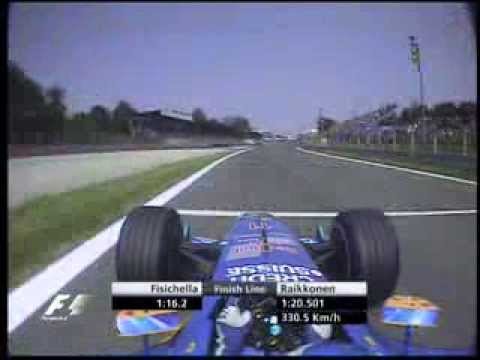 F1 Monza 2004 Q1 - Giancarlo Fisichella Lap - YouTube