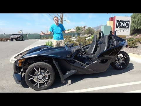 Polaris Slingshot - это один из самых безумных автомобилей в продаже