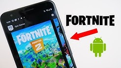 HOW TO DOWNLOAD FORTNITE ON ANDROID! (100% Works)