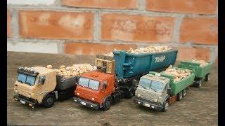 кАМАЗ-53212  из пластилина своими руками
