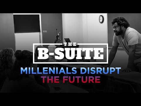 Millennials Disrupt the Future | Hartwick College | The B-Suite