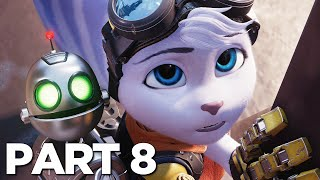 RATCHET AND CLANK RIFT APART PS5 Walkthrough Gameplay Part 8 - CHEF (PlayStation 5)
