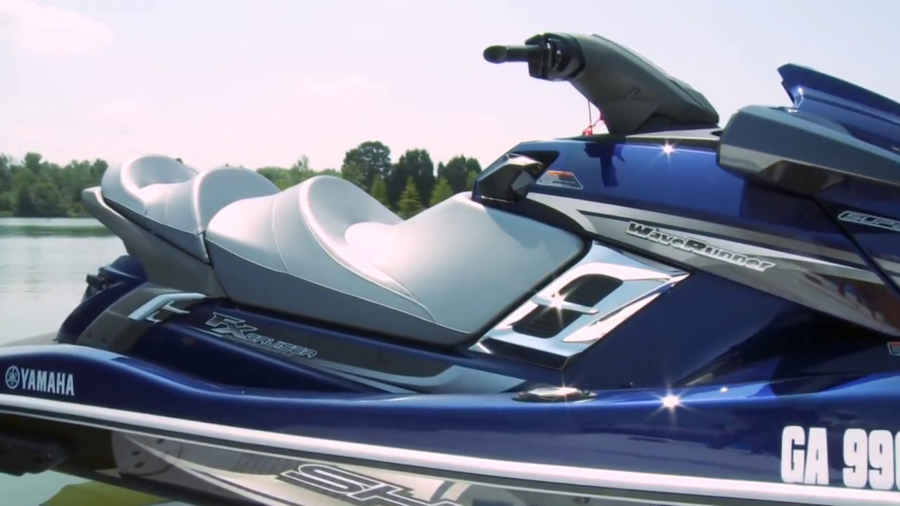 A Detailed Look at the 2012 Yamaha FX Series WaveRunners