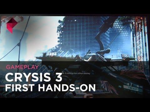 Crysis 3 NEW GAMEPLAY @ GDC Europe 2012