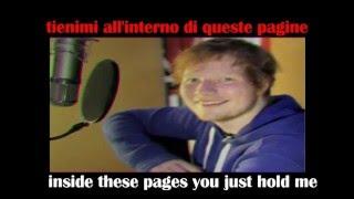 Baixar Ed Sheeran - Photograph - English and Italian Lyrics