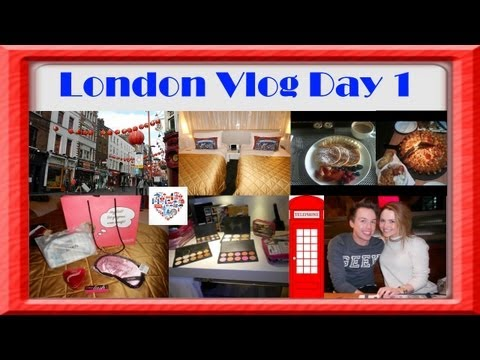 London Vlog With Benefit Cosmetics Day 1
