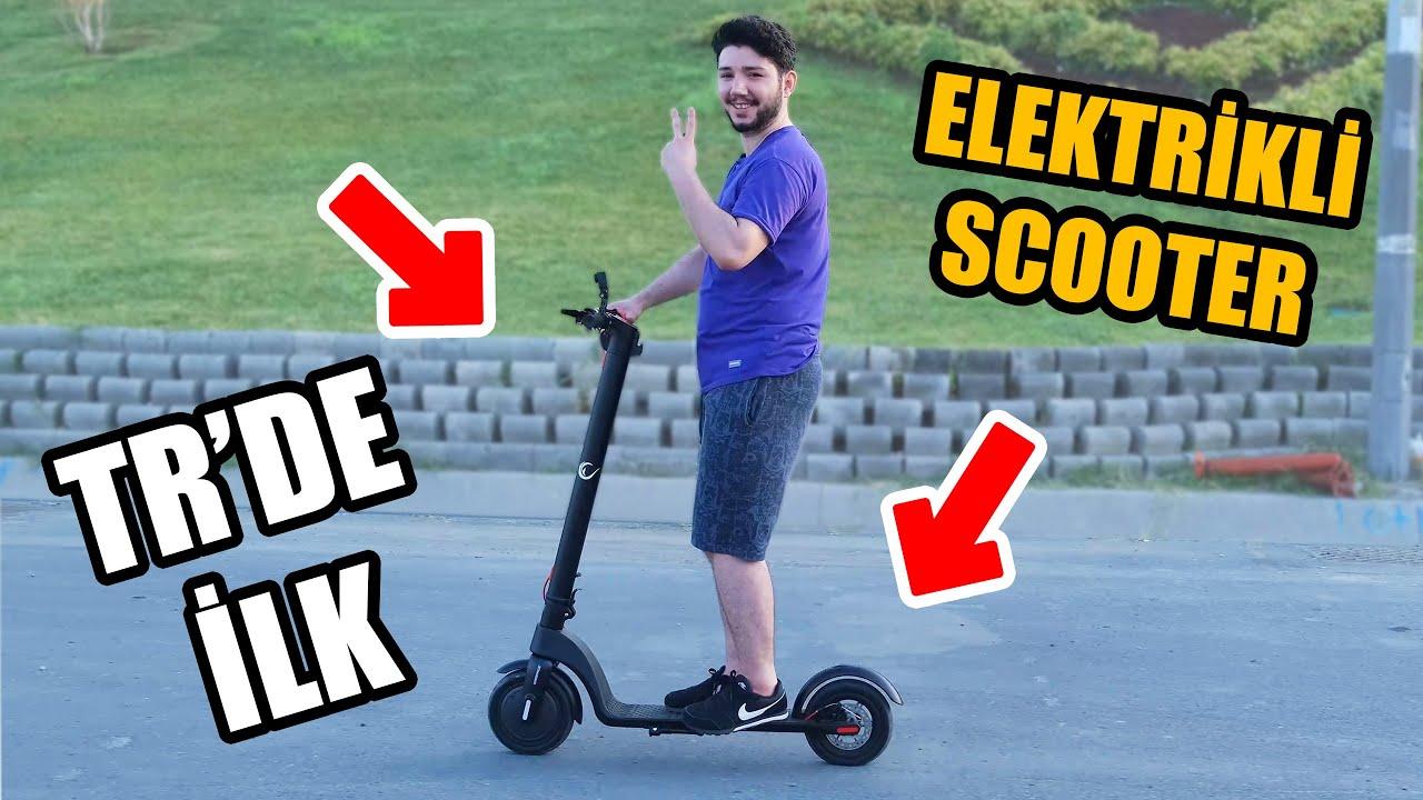 TR'DE İLK! 33KM Hız Yaptığım Elektrikli Scooter - RAMPAGE FLY-X PLUS