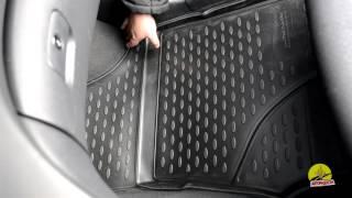 Обзор ковриков в салон Hyundai I 30 - Полиуретановые коврики в салон Новлайн