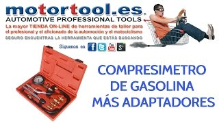 Compresimetro de gasolina más adaptadores
