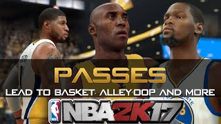 Nba 2k17 passes tutorial/guide - how to do alley-oop, flashy and more