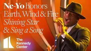 Ne-Yo - Shining Star & Sing a Song (Earth, Wind & Fire Tribute) | 2019 Kennedy Center Honors