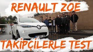 Doğan Kabak | Elektrikli Renault ZOE ile Takipçilerle Test | Ümit Erdim'li