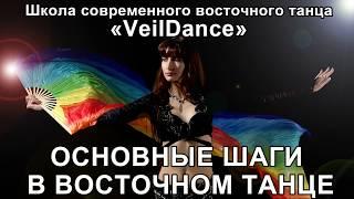 УРОК 3. ОСНОВНЫЕ ШАГИ В ВОСТОЧНОМ ТАНЦЕ. Уроки танца живота онлайн.
