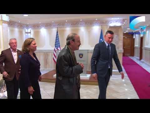 Kadri Veseli pret në takim kongresmenin amerikan Eliot Engel