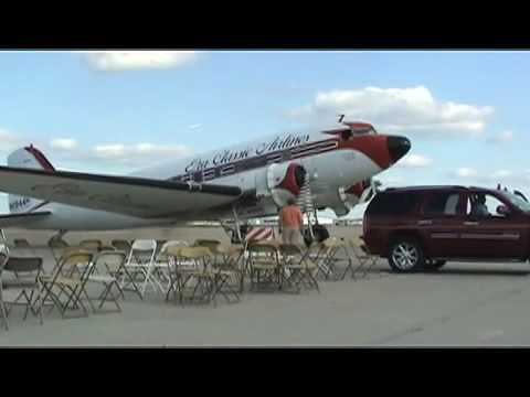 DC-3 Spirit of Alaska with engine start and taxi