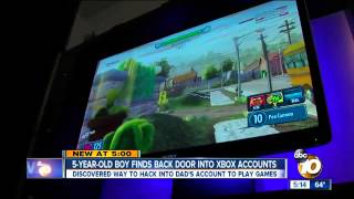 Xbox One Account Hacked by Five Year Old Boy