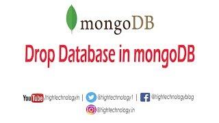 drop database in mongodb