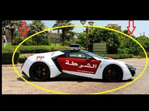 KEREN BANGET!!! Penampakan MOBIL  MEWAH Kepunyaan KEPOLISIAN Abu Dhabi