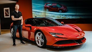 F RST LOOK Ferrari SF90 Stradale  Top Gear