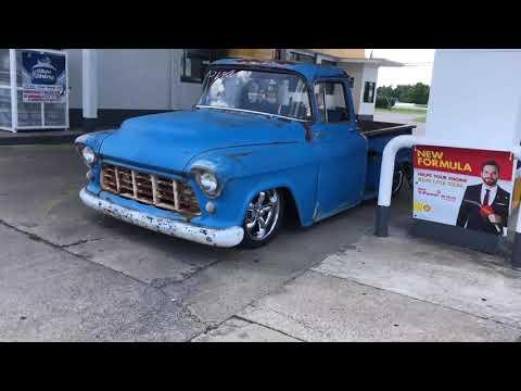 Test Drive 1955 Chevy Truck $21,900 Maple Motors